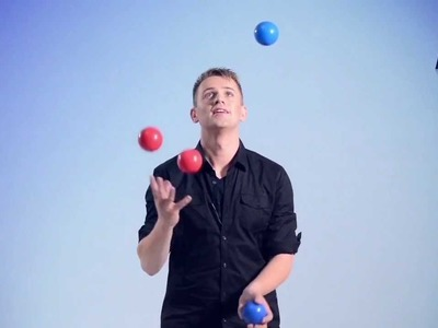 Tutorial How To Juggle 4 Balls - Instructional Video