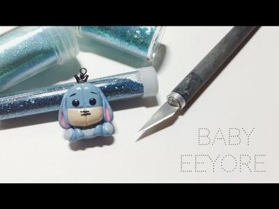 Tutorial : Polymer Clay Baby Eeyore