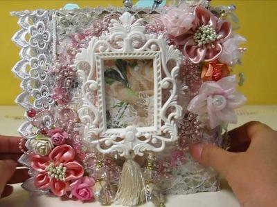 Victorian Beauty Mini Album Flip Book - Sweet Nothings