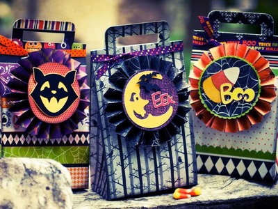 Vintage Halloween Party Bags Assembly Tutorial