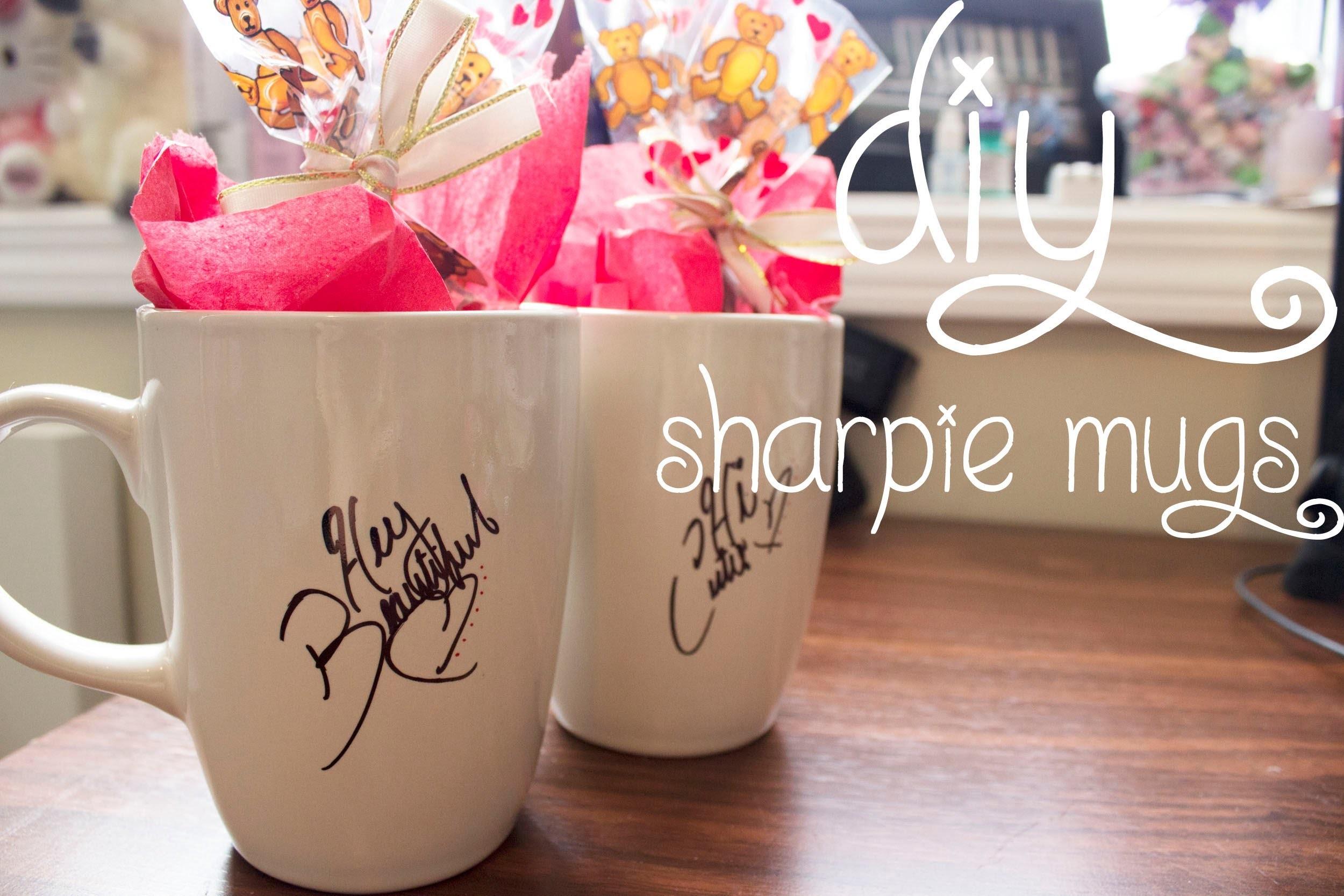 14 Days of Valentine (Day 5): DIY Sharpie Mugs
