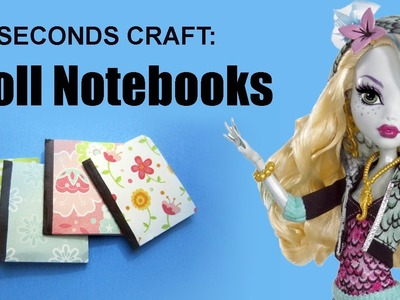 15 Seconds craft #5: Doll Notebooks - EP