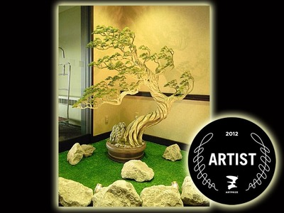 Art Prize 2012 Grand Rapids, MI. Bonsai Tree Charm of the East by Oksana Loboda