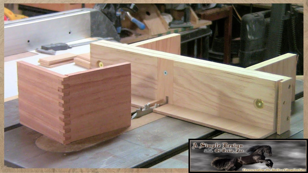 Build a Finger Joint Jig Part 1