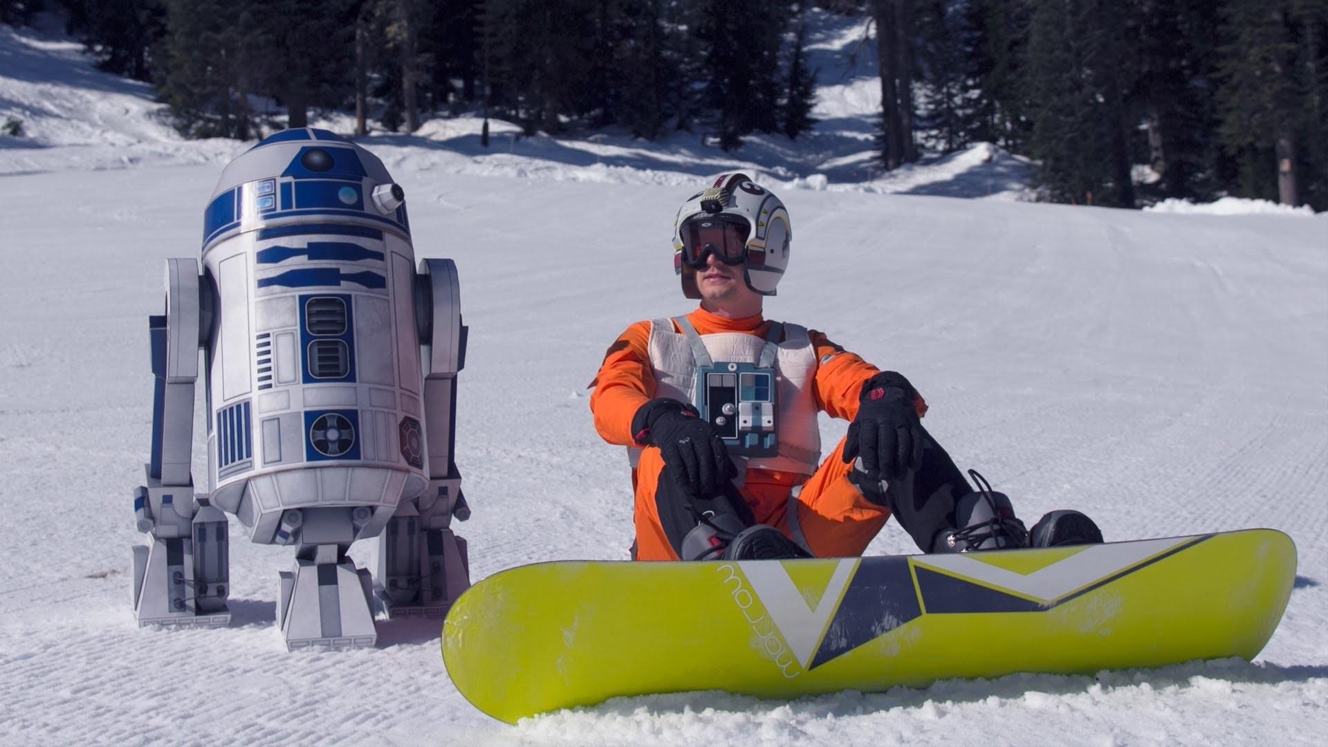 Building my life size R2-D2 paper model.