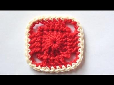 Crochet Blanket Square - Crochet Blanket Squares for Beginners