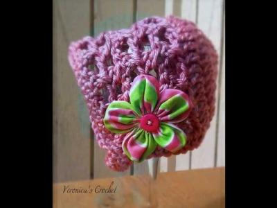 Crochet Bonnet Pattern *Sweet Serenity Bonnet*