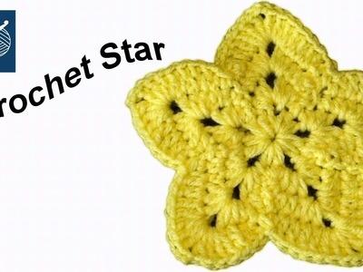 Crochet Star Sirius Left Hand Crochet Geek