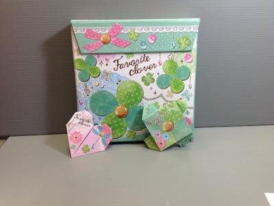 CRUX Favorite Clover Origami Box Memo Unboxing!