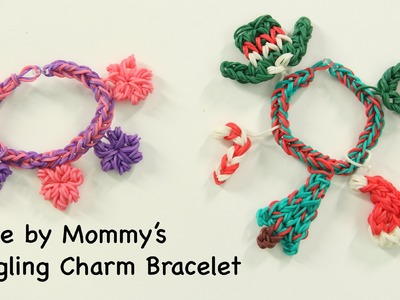 Dangling Charm Bracelet without the Rainbow Loom