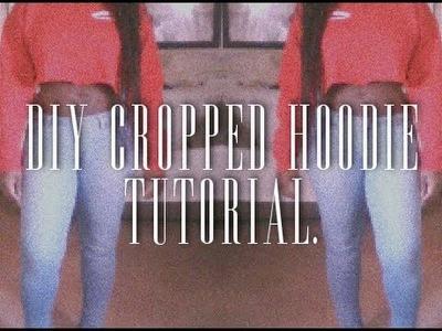 DIY || Cropped Hoodie Tutorial | Meghan Ashley.