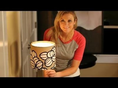 DIY Drum Lamp Shade : Interior Design 101