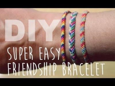 DIY Easy Friendship Bracelet