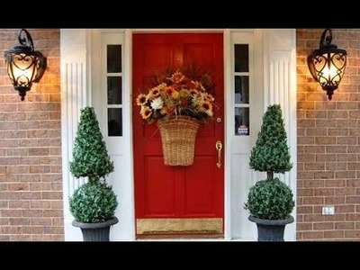 DIY Front door decorating ideas