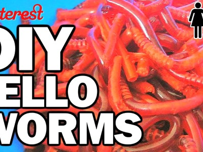 DIY Jello Worms, Corinne VS Pin #3