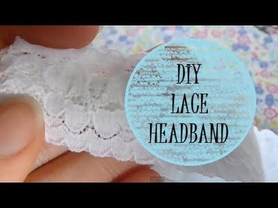 DIY Lace Headband