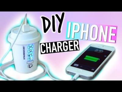 DIY Room Decorations: Tumblr Iphone Charger!