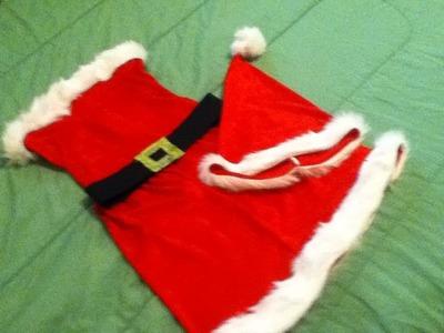 DIY Santa Baby Costume