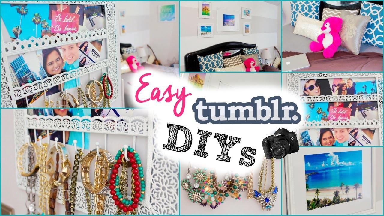 DIY: Tumblr Room Decor for Cheap! | NabelaNoor