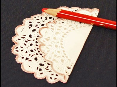 Easy DIY Paper doilies crafts ideas