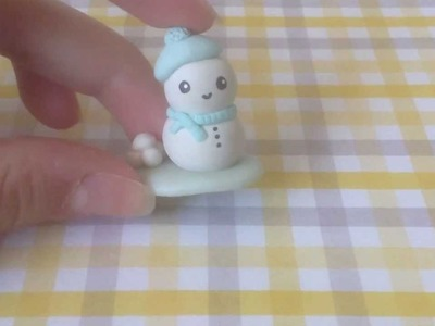 ♥ Glazing Polymer Clay Charms with . .