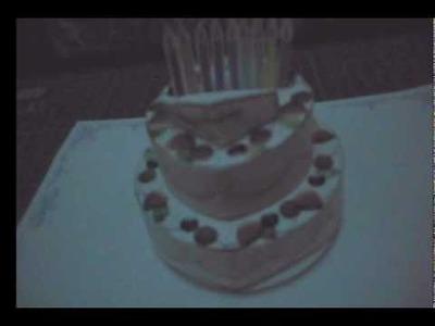 HBD ( Happy Birthday ) PaperCraft Pop Up Cake