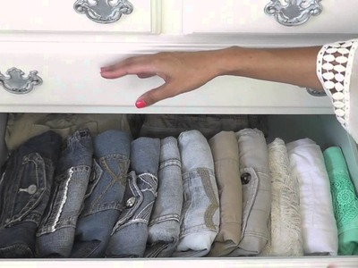 How I Organize My Dresser