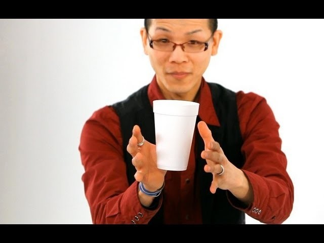 How to Do the Floating Coffee Cup Trick | Magic Tricks