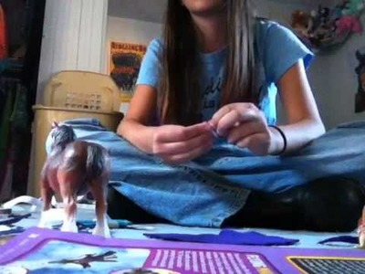 How to make a easy Schleich Blanket! EASY!!!!