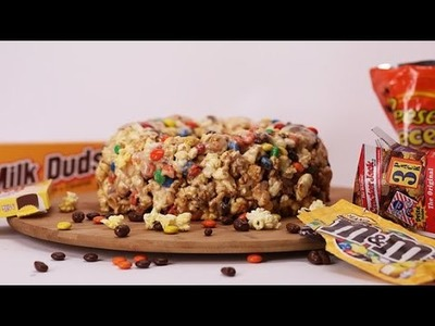 How to Make a Movie Theater Popcorn Cake | Eat the Trend