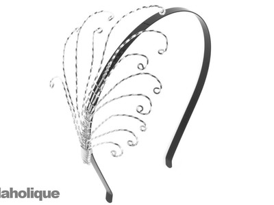 How to Make a Wire Wrapped Feather Headband
