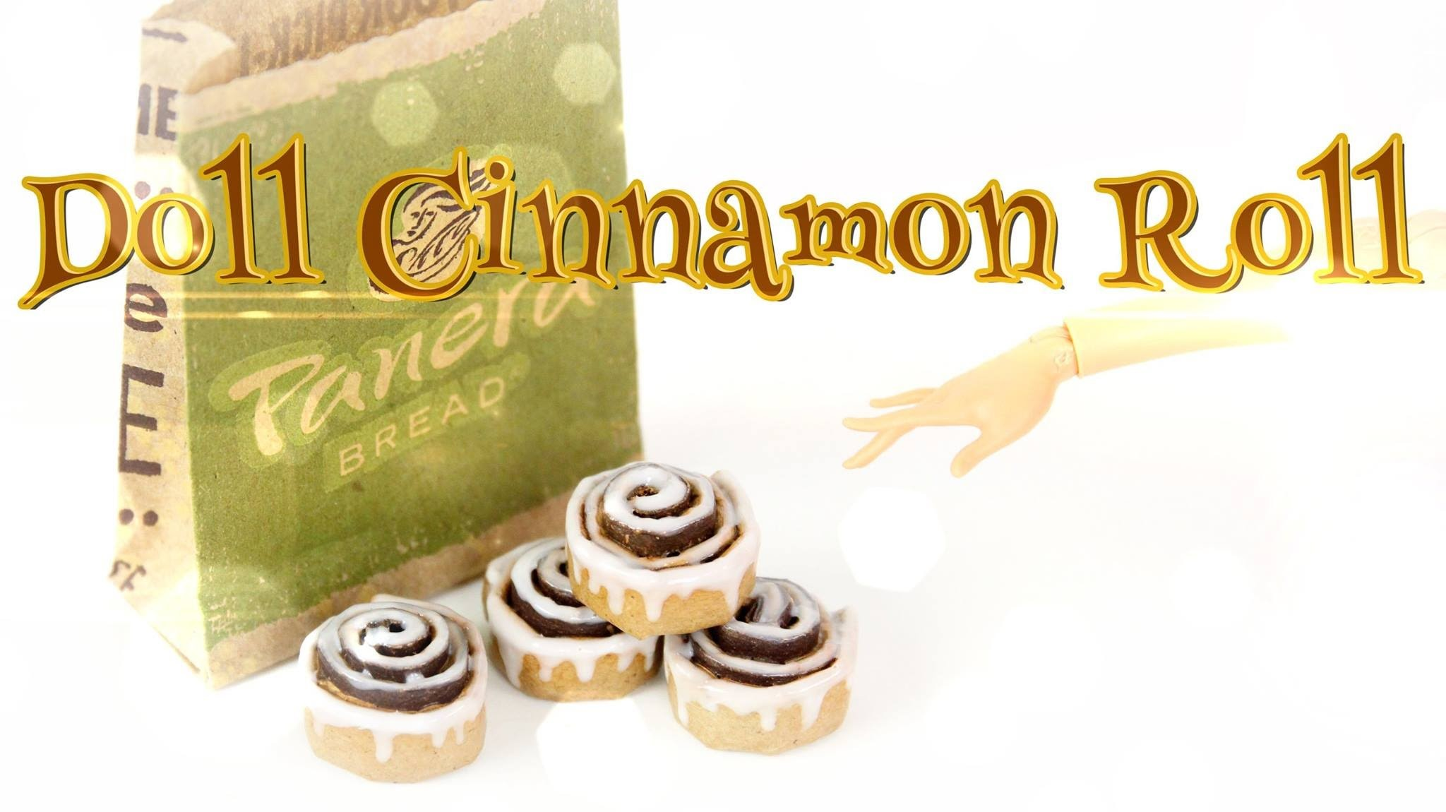 How to Make Doll Cinnamon Rolls - Doll Crafts