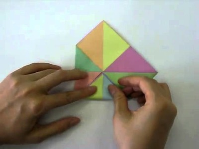 How to make - Origami Cootie Catcher