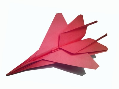 How to make Paper Jetfighter - Plane ( very easy ) : DIY Craft
