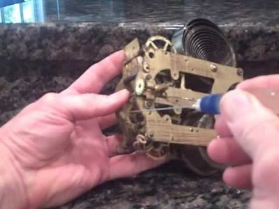 How to Oil a Clock by  www.norkro.com
