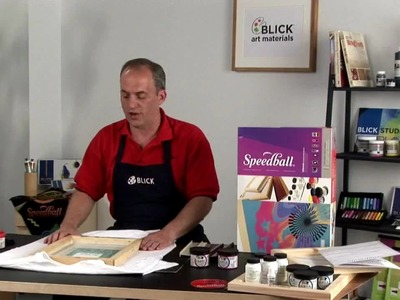 How to Use Speedball Screen Print Materials