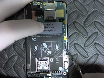HTC Desire Z G2 Ribbon.Tether Replacement.Disassembly Repair HD Complete How To Fix Tutorial DIY
