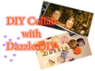 Magazine Lanterns |  DIY Collab with Dazzle DIY