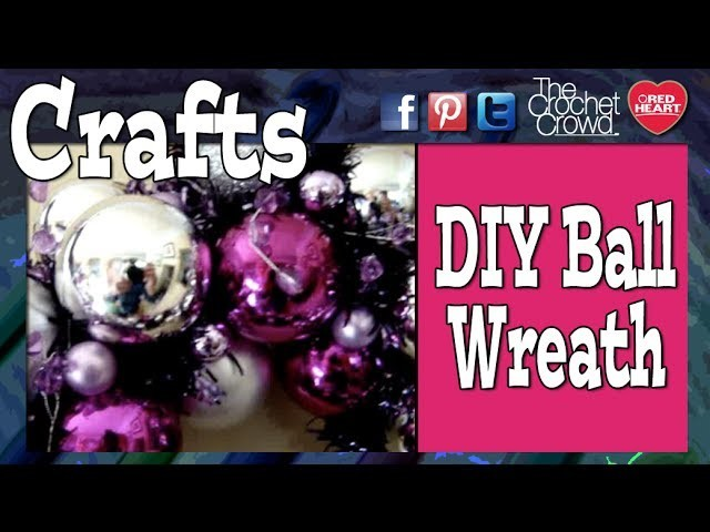 Make A Christmas Ball Wreath
