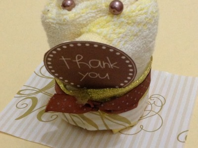 Make a Cute Towel Cupcake Gift - DIY Crafts - Guidecentral