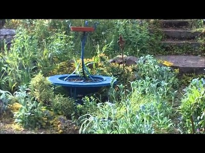 Minerva's Garden:  From Firepit To Focal Point--Inexpensive Recycled Gardening DIY