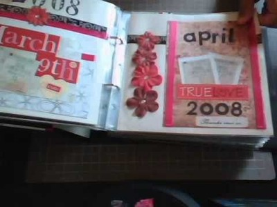 My Very First Scrapbook Album Of My Husband and I