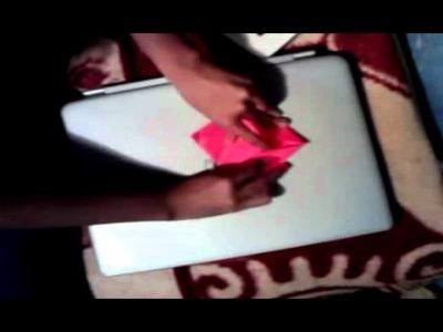 Origami-Como hacer un corazon de papel?