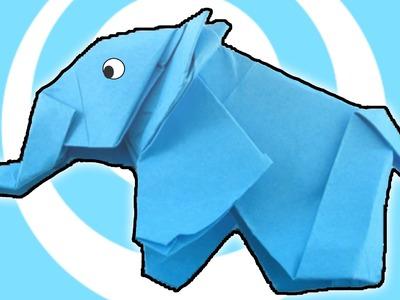Origami Elephant Instructions