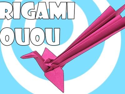 Origami Houou (Japanese Phoenix) Tutorial