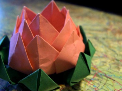 Origami Lotus Flower ( New )