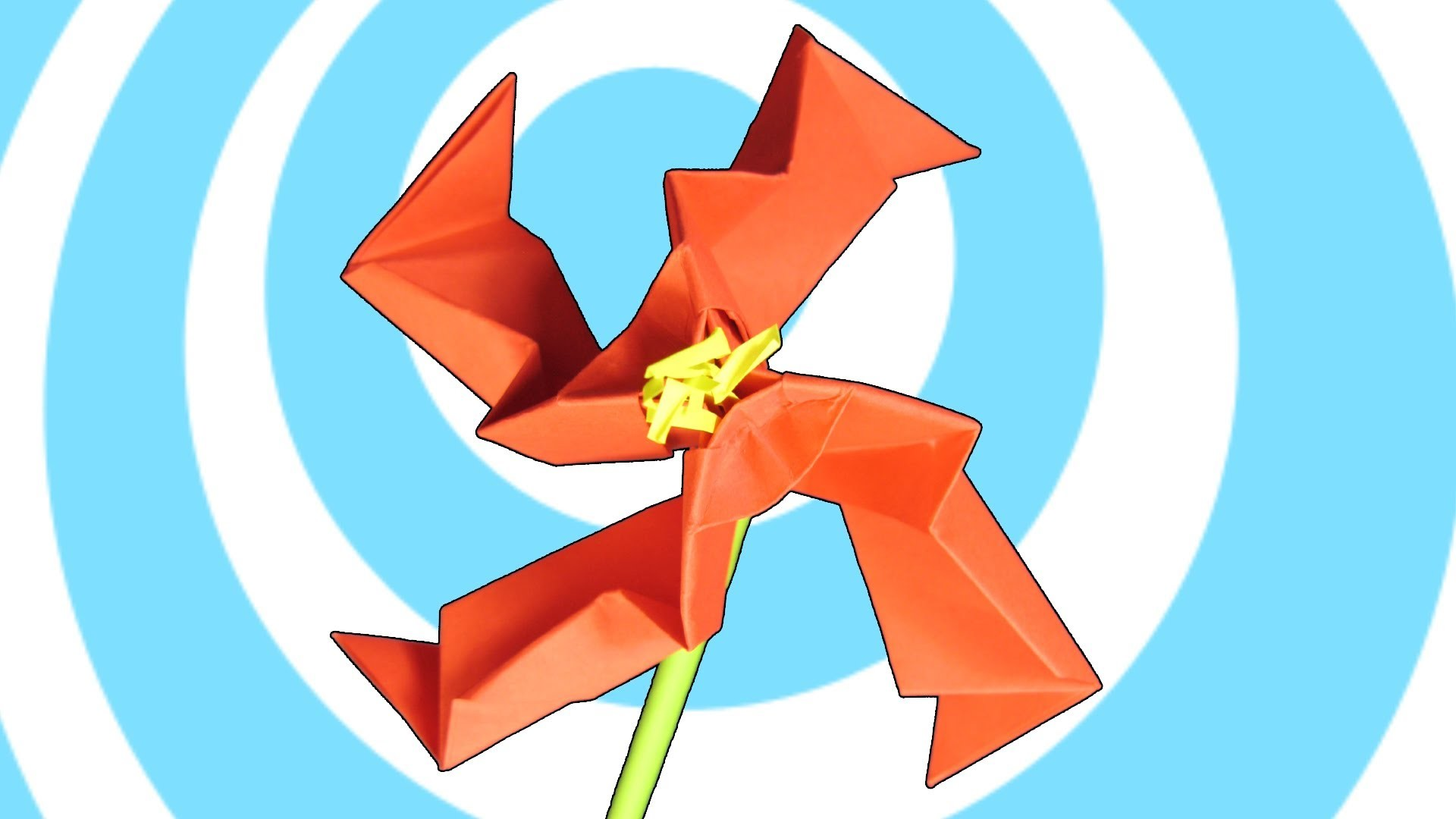 Origami Teo Flower Instructions (Origamite)