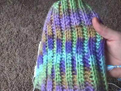Pintober Day 3- DIY Ribbed Knit Crochet Hat