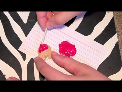 Polymer Clay Mickey Mouse Cookie and Cupcake Tutorial