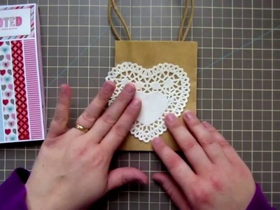 Quick Tip - DIY How To Decorate A Gift Bag